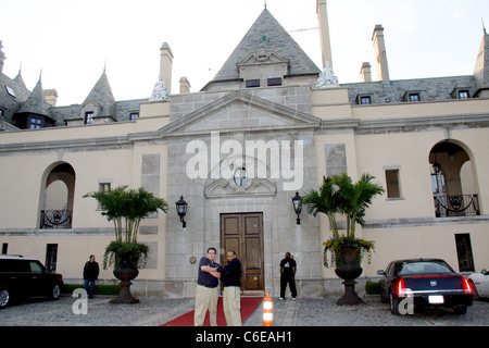 Atmosphere, Oheka Castle Charity boxing event 'Hassle at the Castle' at Oheka Castle in Huntington Long Island, - Stock Photo
