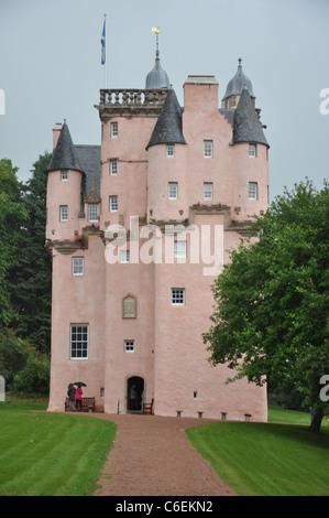 NTS owned Craigievar Castle, Near Alford, Aberdeenshire, Scotland, UK - Stock Photo