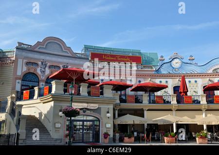 Madame Tussauds waxworks museum, Vienna, Austria, Europe - Stock Photo