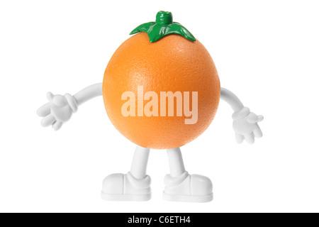 Orange Figurine - Stock Photo