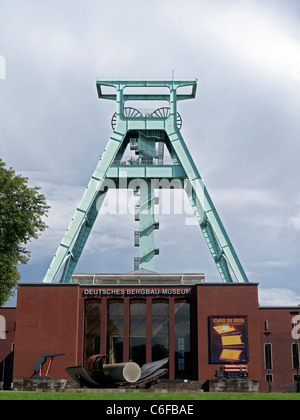 The Deutsches Bergbau-Museum or German Mining Museum in Bochum Germany - Stock Photo