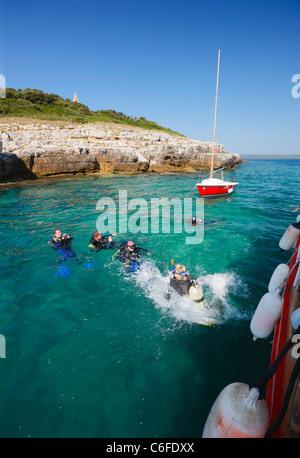 Divers - Stock Photo