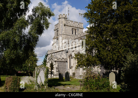 The Parish Church of St Peter and St Paul, in the market town of Tring, Hertfordshire, England - Stock Photo