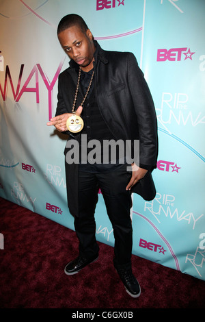 Recording artist Kardinal Offshall BET's Rip The Runway 2010 held at the Hammerstein Ballroom - Arrivals New York - Stock Photo