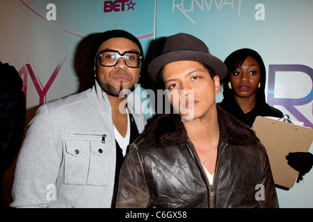 Recording artist Bruno Mars BET's Rip The Runway 2010 held at the Hammerstein Ballroom - Arrivals New York City, - Stock Photo
