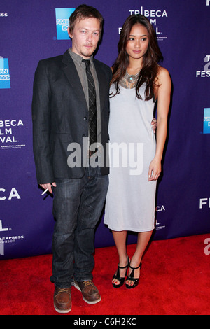 Norman Reedus and Jarah Mariano New York Premiere of 'The ...