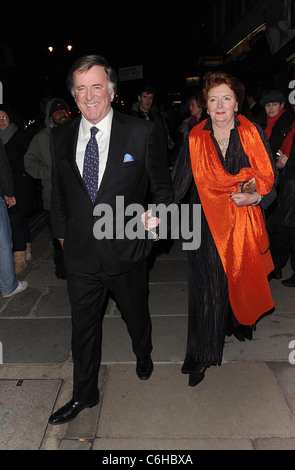 Terry Wogan 'Love Never Dies' World Premiere at the Adelphi Theatre - Outside Arrivals London, England - 09.03.10 - Stock Photo