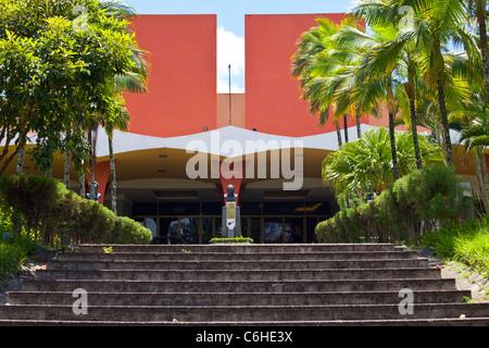 San Salvador, El Salvador - Presidential Palace with ...