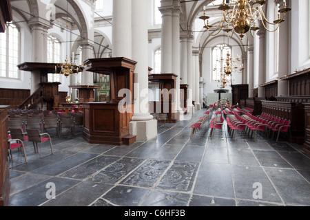 Westerkerk or Western Church in Amsterdam - Stock Photo