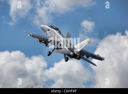 US Navy's F/A-18E Super Hornet - Stock Photo