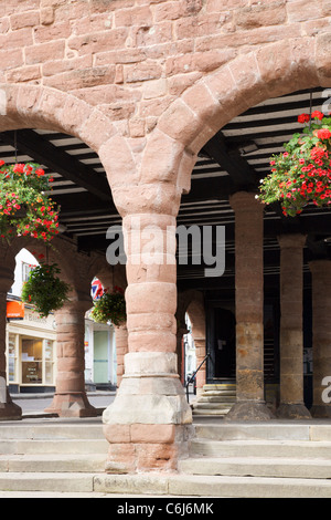 Market House Ross on Wye Herefordshire England - Stock Photo