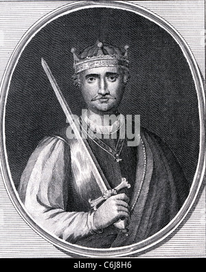 WILLIAM THE CONQUEROR (c 1028-1087) first Norman King of England - Stock Photo