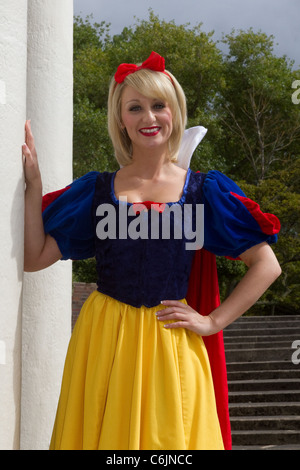 Jenny Jones, a highly skilled presenter, performer. and actess in the Cast of 'Snow White'  & the Seven Dwarfs, - Stock Photo