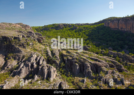 Valley by East Alligator River, at the edge of Kakadu National Park, Arnhem Land, Northern Territory, Australia - Stock Photo