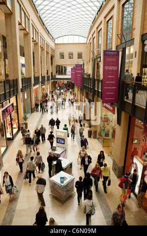 The Grand Arcade shopping mall, Cambridge UK - Stock Photo