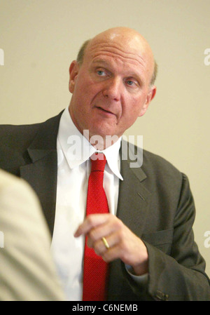 Microsoft Corporation's Chief Executive Officer Steve Ballmer at Microsoft's 2010 Worldwide Partner Conference - Stock Photo
