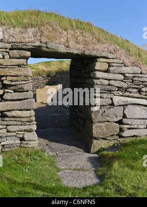 Dh Knap Of Howar PAPA WESTRAY ORKNEY Bronze Age Neolithic House Entrance Prehistorical Settlements Uk Settlement