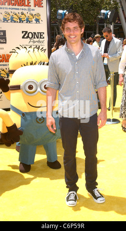 James Marsden Los Angeles Premiere Of Universal Pictures' 'Despicable Me' at the Nokia Theatre- Arrivals Los Angeles, - Stock Photo