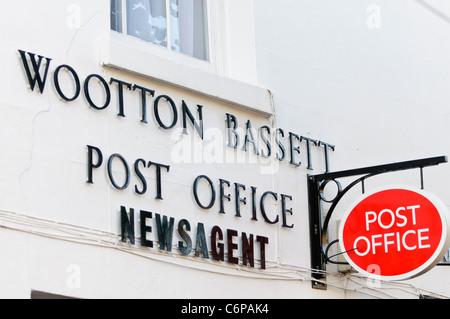 Royal Wootton Bassett post office - Stock Photo