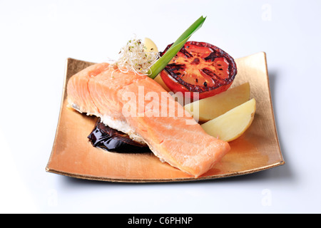 how to cook pan fried salmon fillet