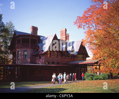 Mark Twain House Museum, Hartford, Connecticut, United States of America - Stock Photo