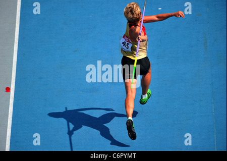 The ambiance shot of the 13th IAAF World Championships in Athletics. - Stock Photo