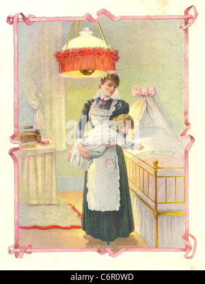 Illustration from advertising booklet for Ivy Soap - Stock Photo