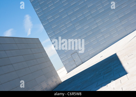 Abstract view on the National Oslo Opera House - Stock Photo