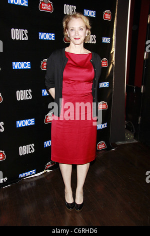 J. Smith-Cameron attending The 2010 Village Voice OBIE Awards, honoring the best of Off-Broadway, held at Webster - Stock Photo