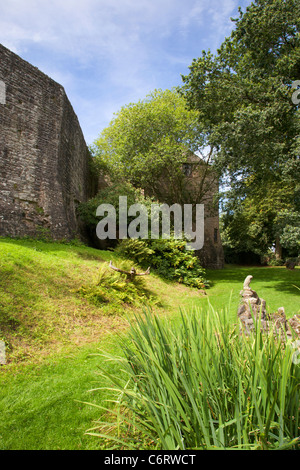 St Briavels Castle Gloucestershire England - Stock Photo
