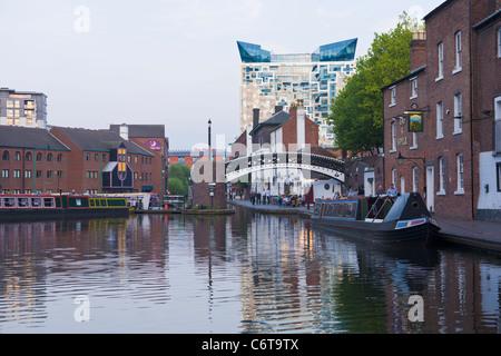 The Cube building, Gas Town, Birmingham, England - Stock Photo