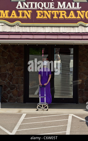 The Amish market country Ohio in USA - Stock Photo