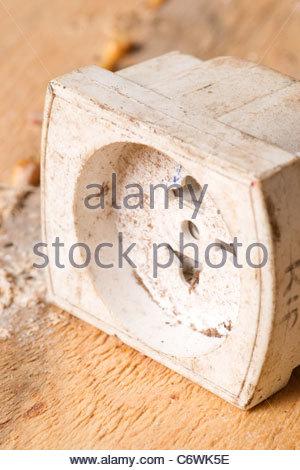 household electrical plug plugs international tra - Stock Photo