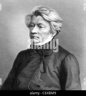 ADAM MICKIEWICZ  (1798-1855)  Polish-Lithuanian poet and political writer - Stock Photo