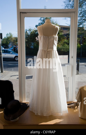 White Wedding Gowns In A Charity Shop St Lukes Hospice The London Borough Of Harrow
