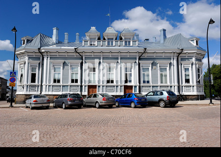 Tanelinkulma house is the originally Russian Aladin family's town residence in Hamina town. This Neorenaissance - Stock Photo