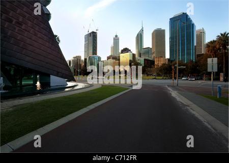 Perth skyline Western Australia - Stock Photo