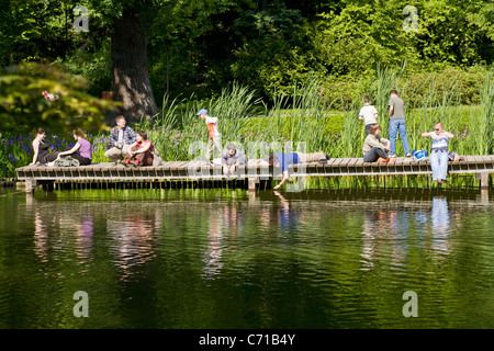 Japanese Garden in Wroclaw - Stock Photo