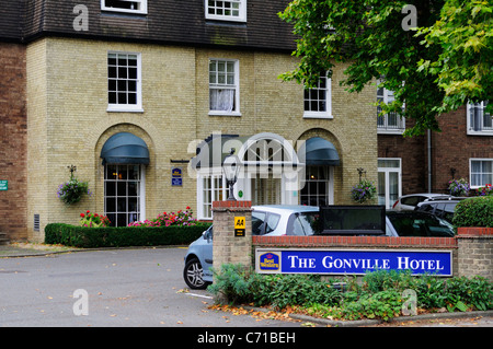 The Gonville Hotel, Gonville Place, Cambridge, England, UK - Stock Photo