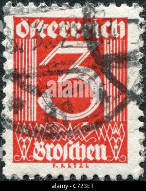 Austria 1925 A Stamp Printed In Austria Shows A Figure