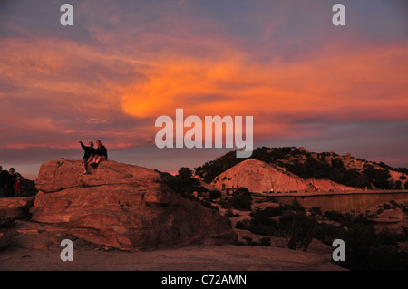 Stock Photo View Of Santa Catalina Island From Newport Beach California 79773057 on golf on a volcano in desert or