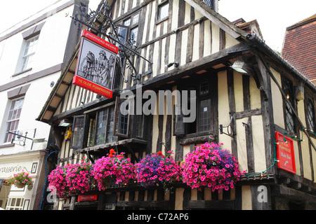 Ye Olde PumpHouse pub George Street, Hastings Old Town, East Sussex, England, UK, GB - Stock Photo