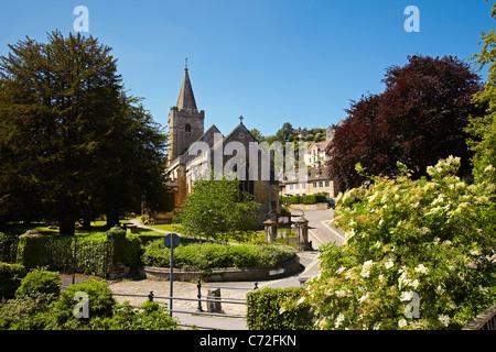 Holy Trinity Parish Church, Bradford on Avon, Wiltshire, England, UK - Stock Photo