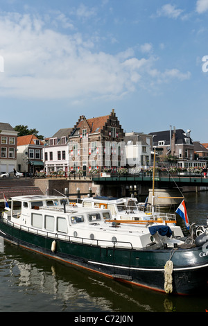 Ship in Gorinchem, Holland - Stock Photo