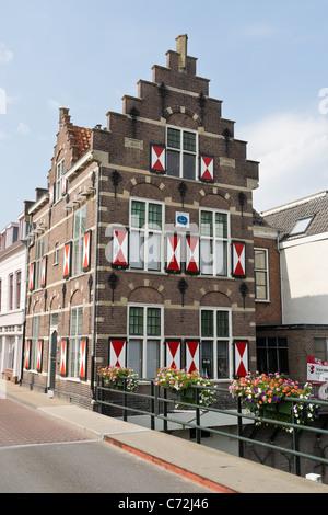 Bridge keeper house, Gorinchem, Holland - Stock Photo