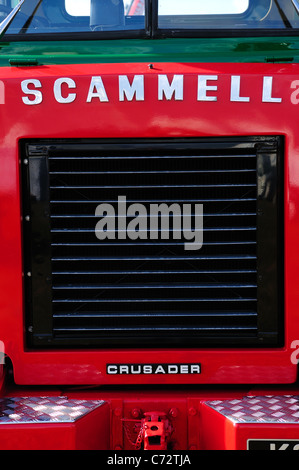 Scammell Lorry. - Stock Photo