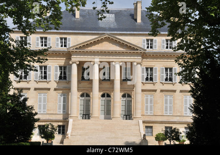 chateaus im médoc frankreich