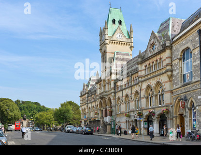 The Guildhall on Broadway in the city centre, Winchester, Hampshire, England, UK - Stock Photo