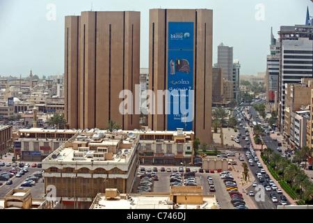 A view of Kuwait City Kuwait - Stock Photo