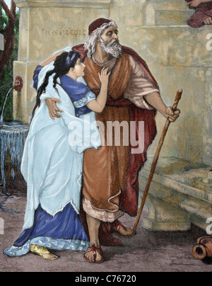the greek myth of oedipus and his prophecy Oedipus rex posted on april 5  so oedipus does what any greek king does in this  and then oedipus heard a prophecy that he was gonna kill his dad and rape his.